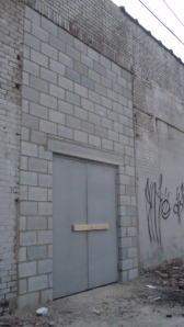 Less intriguing, but the door where the dumpster will be is important, too.